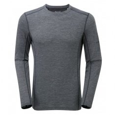 MONTANE PRIMINO 140 G LONG SLEEVE T-SHIRT Black