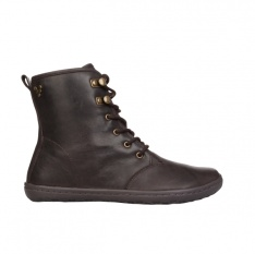VIVOBAREFOOT GOBI HI TOP L Leather Dk Brown