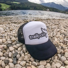 TRAILPOINT Kšiltovka Trucker White/Black