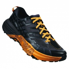 HOKA SPEEDGOAT 2 Black/Kumquat