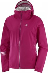 SALOMON LIGHTNING WP JKT W Cerise