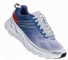 HOKA CLIFTON 6 Wide W Plein Air/Monlight Blue