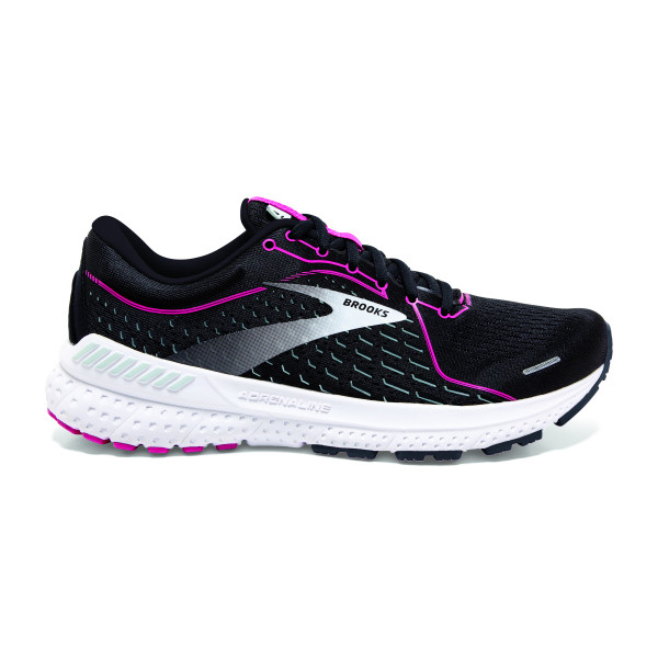 BROOKS Adrenaline GTS 21 W Black/Raspberry Sorbet/Ebony