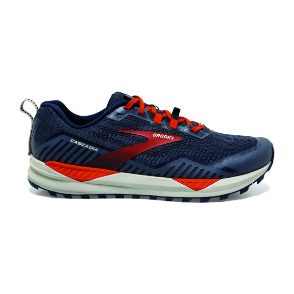 BROOKS Cascadia 15 Navy/Orange/Pelican
