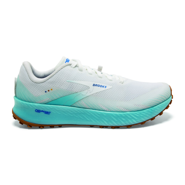 BROOKS Catamount White/Iced Aqua/Blue