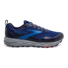 BROOKS Divide Blue/Navy/Cherry Tomato