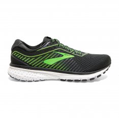 BROOKS Ghost 12 Ebony/Grey/Gecko