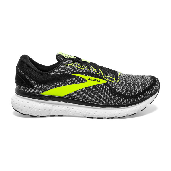 BROOKS Glycerin 18 Black/White/Nightlife