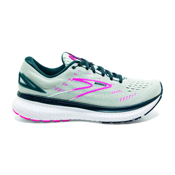 BROOKS Glycerin 19 W Ice Flow/Navy/Pink