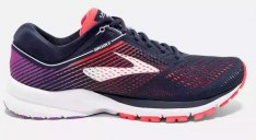 BROOKS Launch 5 W Navy/Coral/Purple
