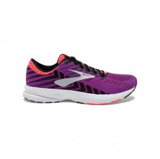 BROOKS Launch 6 Purple/Black/Coral