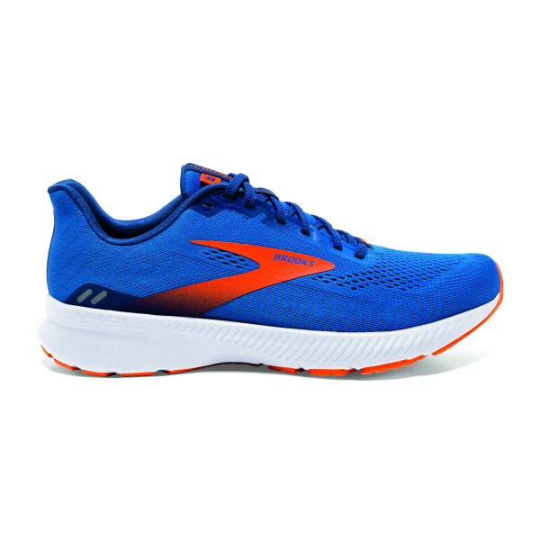 BROOKS Launch 8 Blue/Orange/White