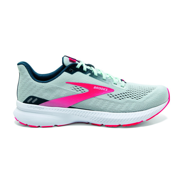 BROOKS Launch 8 W Ice Flow/Navy/Pink