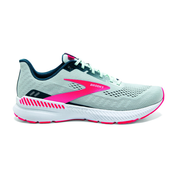 BROOKS Launch GTS 8 W Ice Flow/Navy/Pink