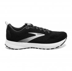 BROOKS REVEL 4  Black//Oyster/Silver