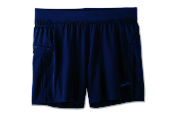 "BROOKS Sherpa 5"" 2-in-1 Short Navy"