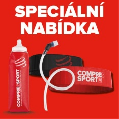 COMPRESSPORT FREEBELT + ERGOFLASK 600ML DLOUHÁ HADIČKA