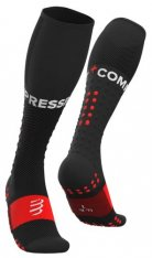 COMPRESSPORT KOMPRESNÍ PODKOLENKY FULL SOCKS RUN Black