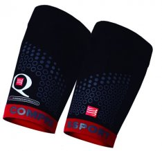 COMPRESSPORT NÁVLEKY NA STEHNA QUAD TRAIL Black/Red