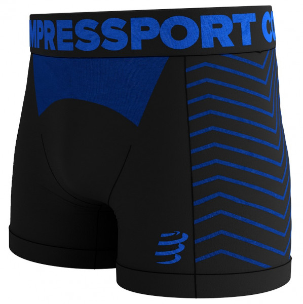 COMPRESSPORT SEAMLESS BOXER M BLACK