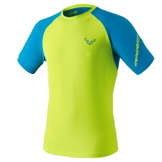 DYNAFIT ALPINE PRO S/S TEE MEN Fluo Yellow