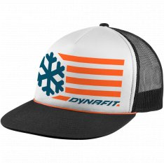 DYNAFIT GRAPHIC TRUCKER CAP White