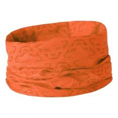 DYNAFIT LOGO PRIMALOFT NECK GAITER Fluo Orange