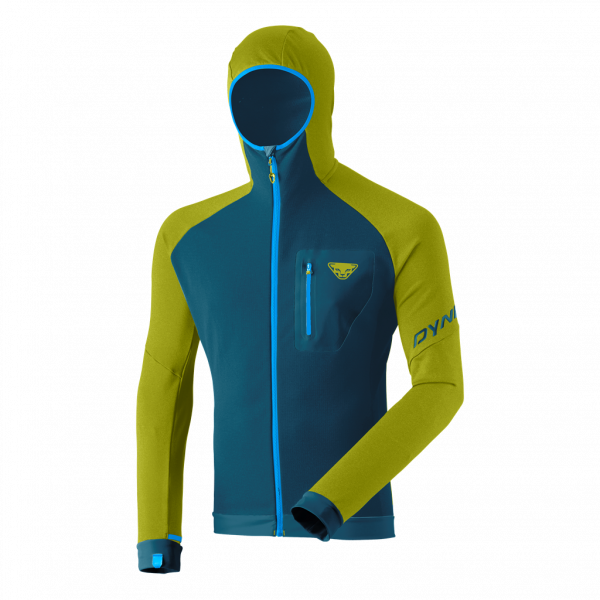 DYNAFIT RADICAL POLARTEC® HOODED JACKET M Moss