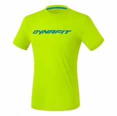 DYNAFIT TRAVERSE T-SHIRT MEN Flue Yellow
