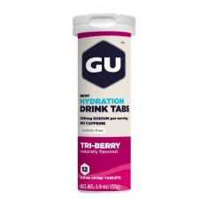 GU HYDRATION DRINK TABS Triberry