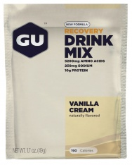 GU RECOVERY DRINK MIX Vanilla cream
