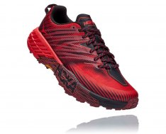 HOKA SPEEDGOAT 4 Cordovan / High Risk Red
