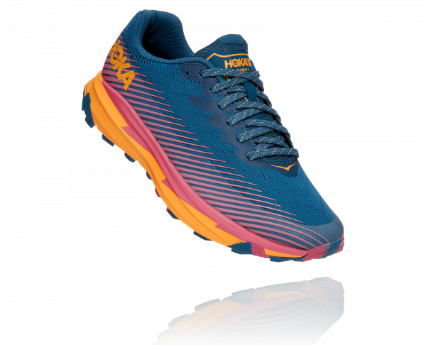 HOKA TORRENT 2 W MOROCCAN BLUE / SAFFRON