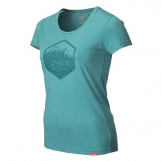 INOV-8 AT/C TRI BLEND TEE SS MTS W Teal