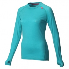 INOV-8 AT/C MERINO LS teal/pink