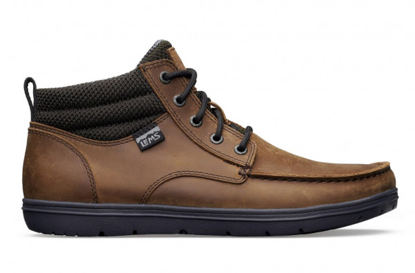 LEMS BOULDER BOOT MID LEATHER Umber