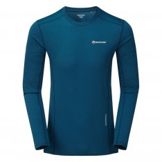 MONTANE MENS SABRE LONG SLEEVE T-SHIRT Narwhal Blue