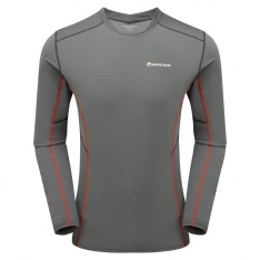 MONTANE RAZOR LONG SLEEVE T-SHIRT Shadow