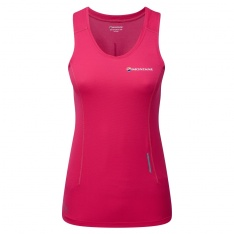 MONTANE WOMENS CLAW VEST Dolomine Pink