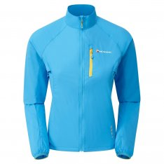 MONTANE WOMENS FEATHERLITE TRAIL JACKET Blue