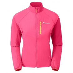 MONTANE WOMENS FEATHERLITE TRAIL JACKET Dolomite Pink