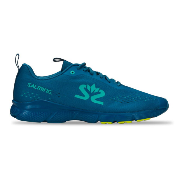 SALMING enRoute 3 Men Digital Teal Blue/Bio Lime