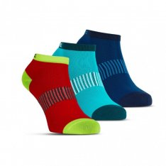 SALMING Performance Ankle Sock 3p Blue/Red/Lapis