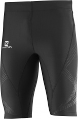 SALMON INTENSITY SHORT TIGHT M Black