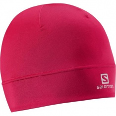 SALOMON ACTIVE BEANIE W Lotus Pink