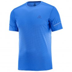 SALOMON AGILE SS TEE M Nautical Blue
