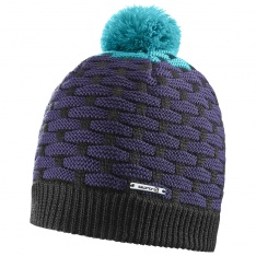 SALOMON POLY BEANIE Kouak Blue/Nightshade