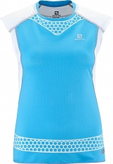 SALOMON S-LAB EXO TANK W blue/white