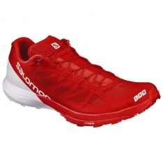 SALOMON S/LAB SENSE 6 Racing Red/White