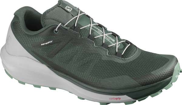 SALOMON SENSE RIDE 3 Green Gables/Alloy/Oil Blue